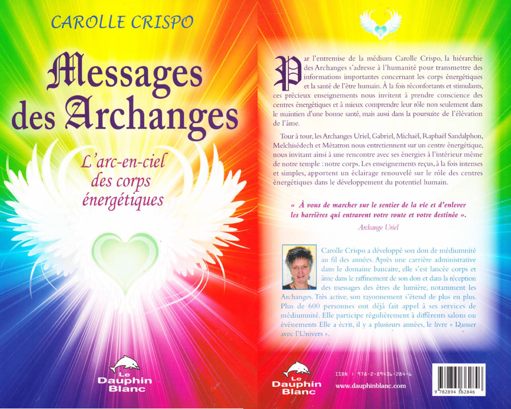 Messages des archanges, par Carolle Crispo