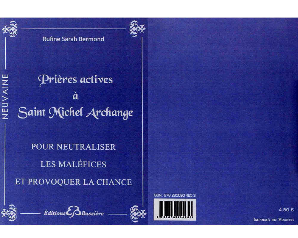 Prières actives à Saint Michel Archange, par R.S Bermond